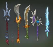 Naga Weapons by Eepox