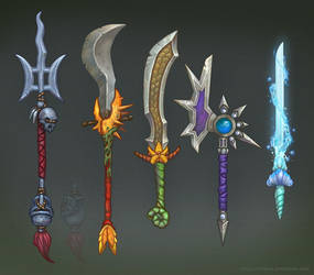 Naga Weapons by Eepox