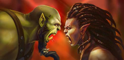 Torakk vs Manata by Eepox