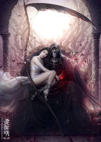 CoR - Throne Under A Dying Sun by MarioWibisono