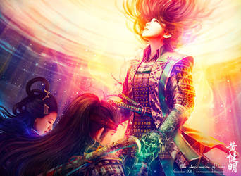 The Ascension of Iweko by MarioWibisono