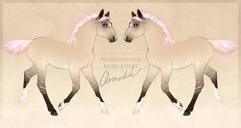 Crazedxmia Nordanner Foal Design 7 by qannekke