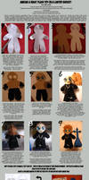 Basic Plush Toy Tutorial by KeyshaKitty