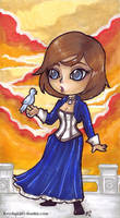 Bioshock Infinite - Elizabeth by KeyshaKitty