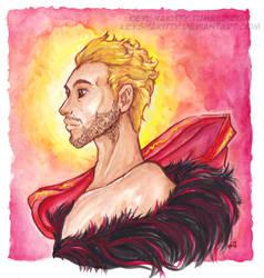 DAI - Cullen watercolour by KeyshaKitty