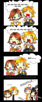 The Laughing Game - FFX comic by KeyshaKitty