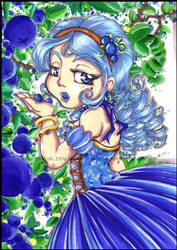 Blueberry Princess by KeyshaKitty
