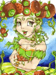 Kiwi Fruit Princess by KeyshaKitty