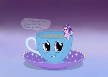 The Great and Powerful Teacup (alternate) by UltraTheHedgetoaster
