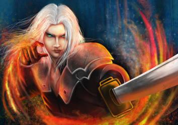 Sephiroth hatred by AutumnRaineLifez