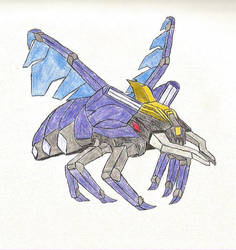 Sharpshot (insect form) by JSparling