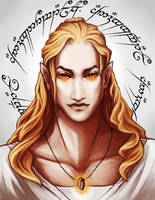 Sauron (Annatar) by the-ALEF