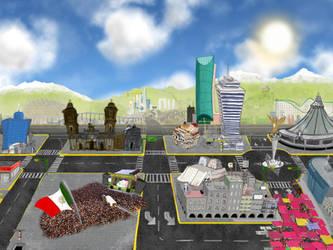 Ciudad de Mexico Majadera by toocoolo