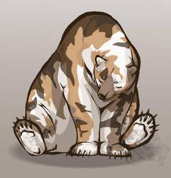 Calico Bear by Kanina-Firefox