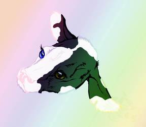 Blue Eyed Calf by Kanina-Firefox