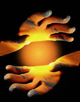 Holding Light by ReinNomm