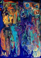 Neon Night Reflections by ReinNomm