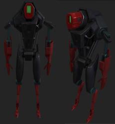 Stupid Robot by dpadam450