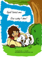 The Good Shepherd: God loves me by NekoHimeAnny