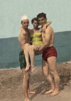 bill-janet-dick-raffine 1951 C by Whooogo