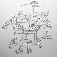 LazyBot, SofaBot  TVbot by Whooogo