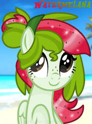 Watermelana - Beach Day by MonkFishyAdopts