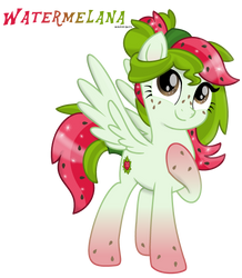 My Little Pony The Movie - Watermelana by MonkFishyAdopts
