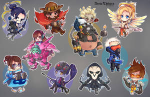 Overwatch sticker sample (UPDATED) by arisa-chibara