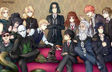 Harry Potter 20th Anniversary by arisa-chibara