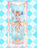 CCS Magical Girl Clear Card Bookmark by arisa-chibara
