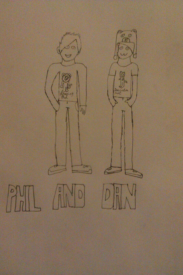 Phil and Dan by ForensicBec