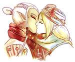 Sheikah Girlfriends. by cherry-burlesque