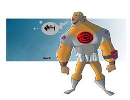 Alien design by Salvador-Raga