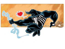 Venom in love by Salvador-Raga