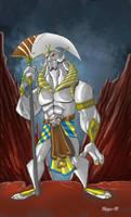 Alien emperor by Salvador-Raga