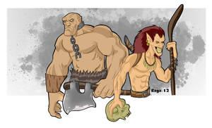 Trolls by Salvador-Raga