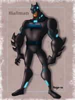 Batman Redesign by Salvador-Raga