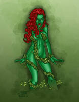 New Poison Ivy Design By Rantz by Salvador-Raga
