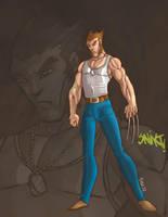 Young Wolverine by Salvador-Raga
