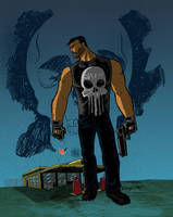 Punisher by Salvador-Raga