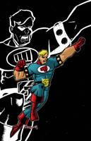 Fist of justice final by Salvador-Raga
