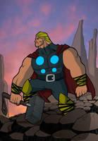 Thor by Salvador-Raga