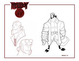 Hellboy Animated by Salvador-Raga