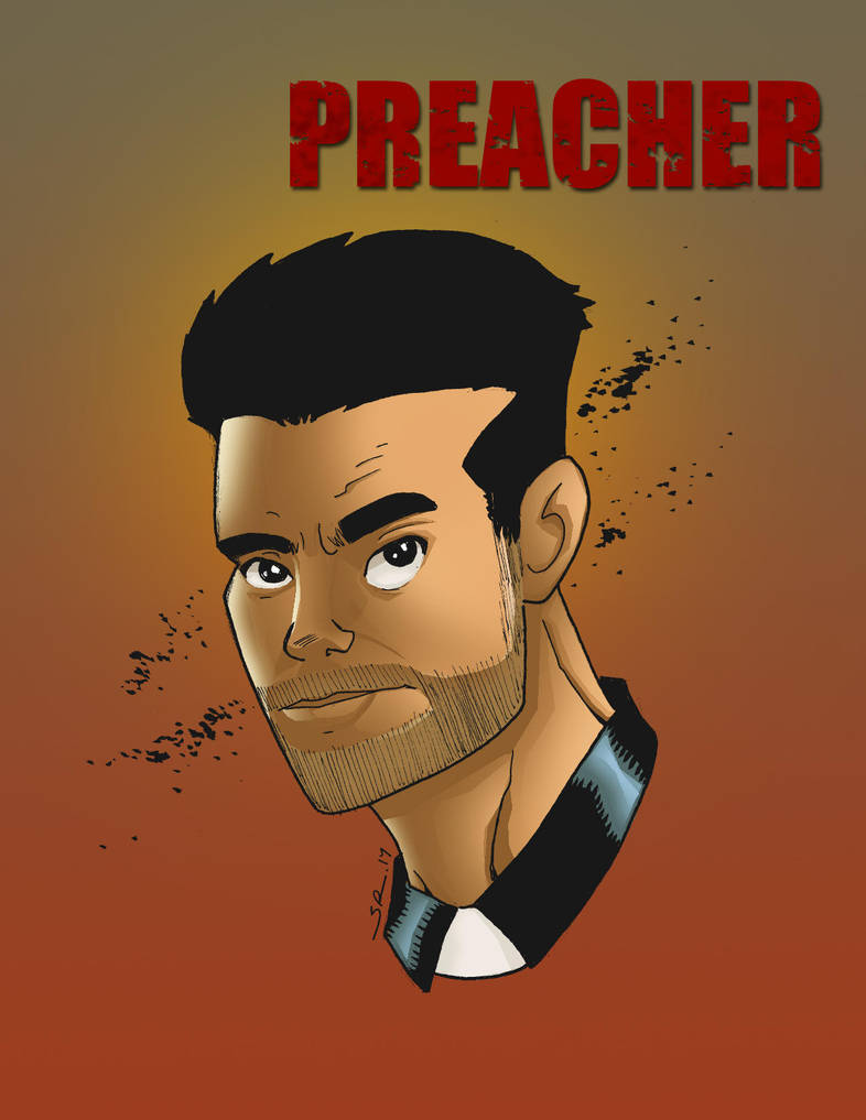 Preacher by Salvador-Raga