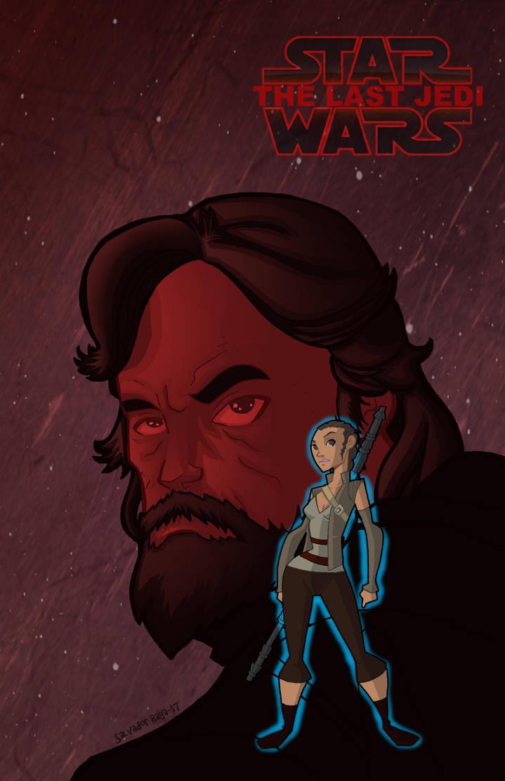 The Last Jedi by Salvador-Raga