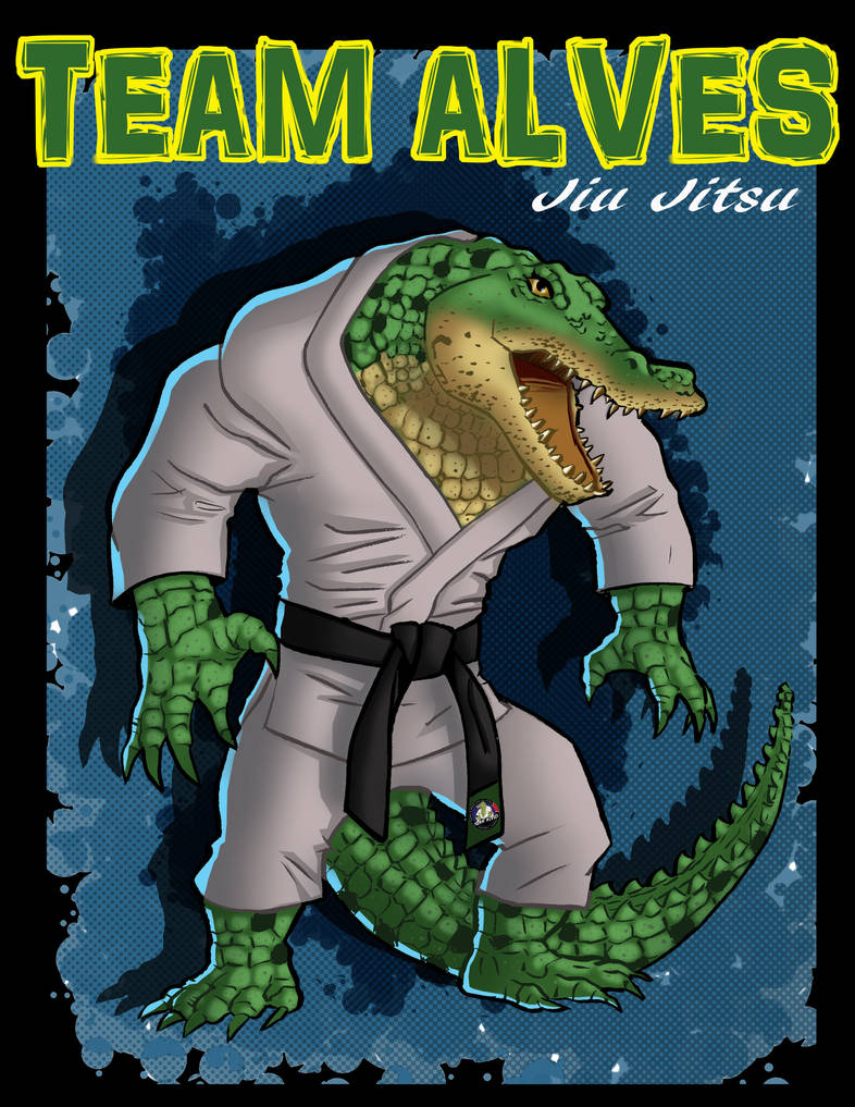 TeamAlvesCrocodrile by Salvador-Raga