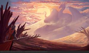 The Desert Dragon by math-o-matic