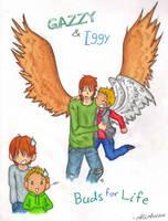 MR: Gazzy and Iggy by AliAvian