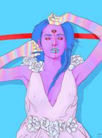 Third Eye Flower Dress by SuperPhazed