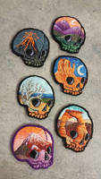scenic skulls 2016 by MalumDiscordiae